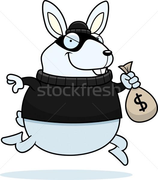 Desenho animado rabino ladrão ilustração dinheiro Foto stock © cthoman