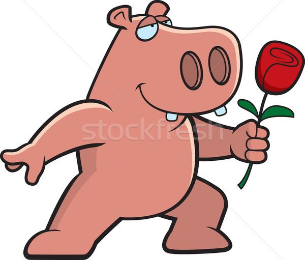 Hippo Flower Stock photo © cthoman