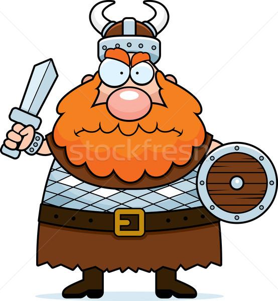 Angry Viking Stock photo © cthoman
