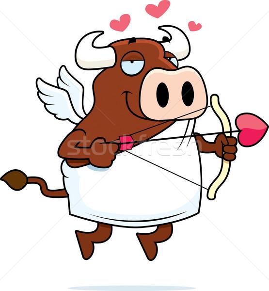 Bull Cupid Stock photo © cthoman