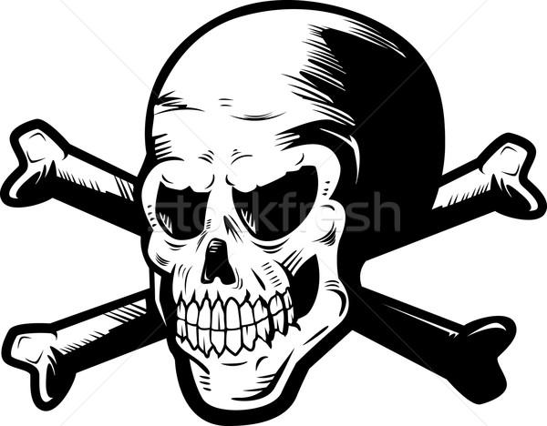 Skull and Crossbones Stock photo © cthoman