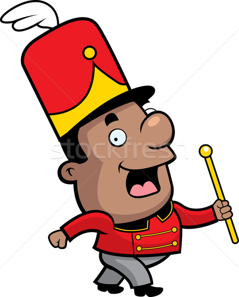 Stock photo: Marching Band Conductor