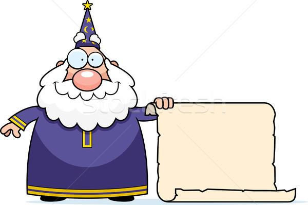 Wizard Scroll Stock photo © cthoman