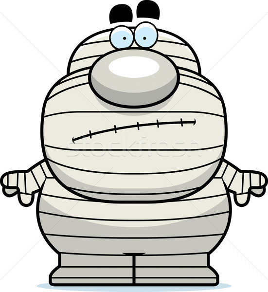 Cartoon Mummy Bored Stock photo © cthoman