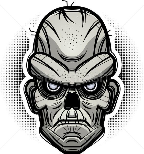 ストックフォト: 悪 · ゾンビ · 実例 · 見える · グラフィック · 怒っ