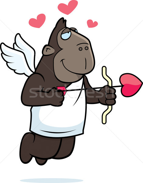 Cupid Ape Stock photo © cthoman