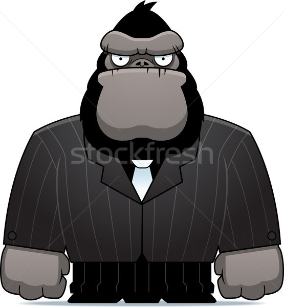 Gorilla Suit Stock photo © cthoman