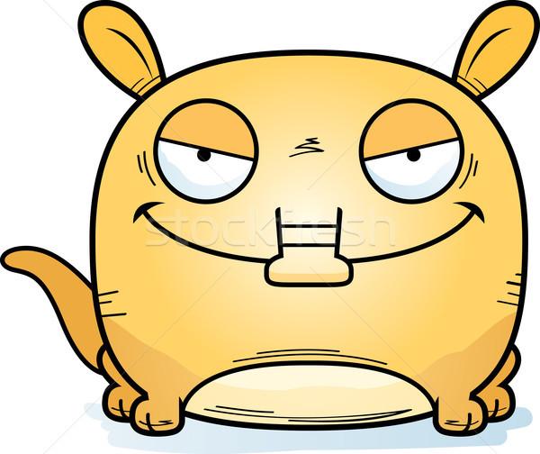Cartoon Devious Aardvark Stock photo © cthoman