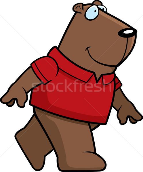 Groundhog Walking Stock photo © cthoman