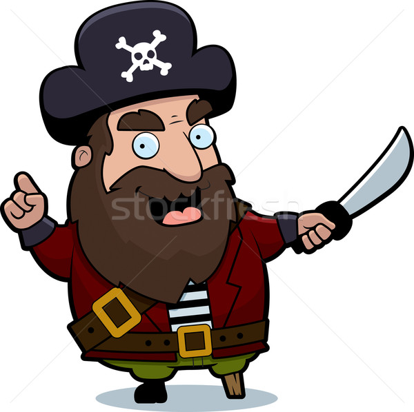 Pirate Captain Stock photo © cthoman