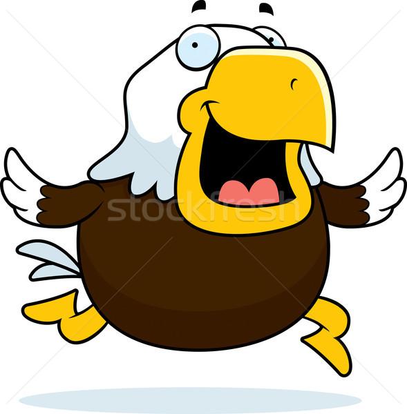 Bald Eagle Running Stock photo © cthoman
