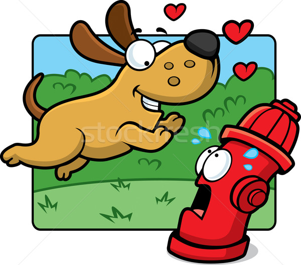 Dog Hydrant Stock photo © cthoman