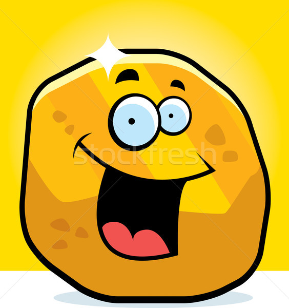 Gold Nugget Smiling Stock photo © cthoman