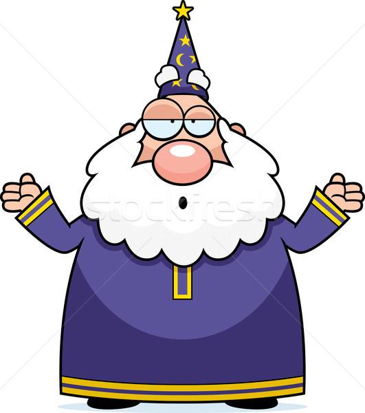 Wizard Confused Stock photo © cthoman