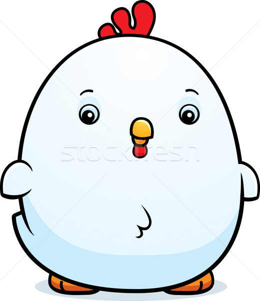 Cartoon Baby Rooster Stock photo © cthoman