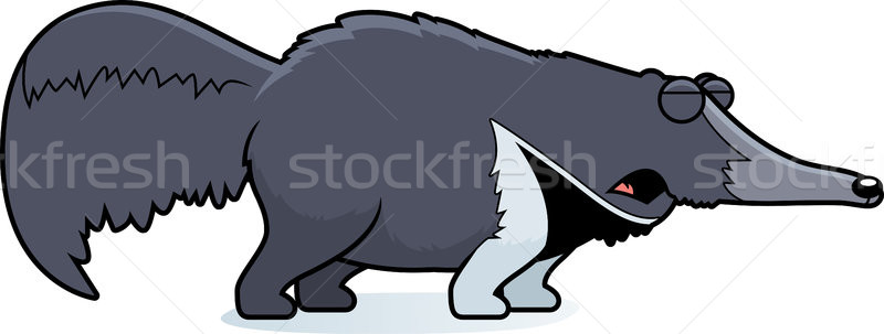 Cartoon Anteater Howling Stock photo © cthoman