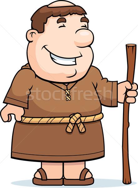 Friar Smiling Stock photo © cthoman