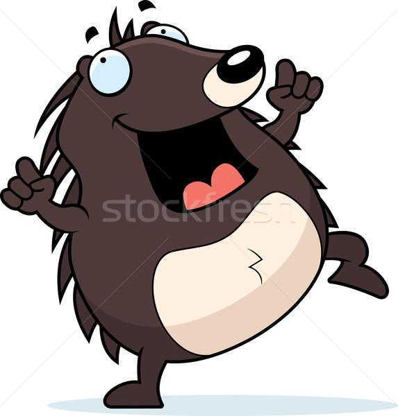 Hedgehog Dancing Stock photo © cthoman