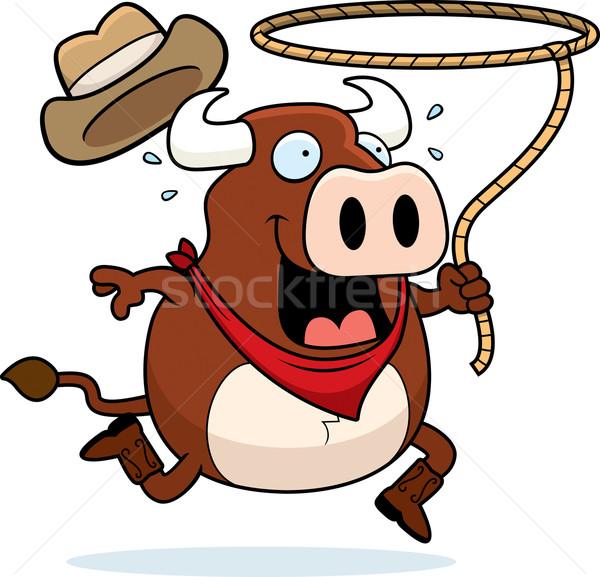Bull Rodeo Stock photo © cthoman