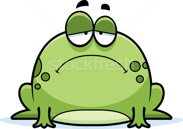 Sad Little Frog Stock photo © cthoman