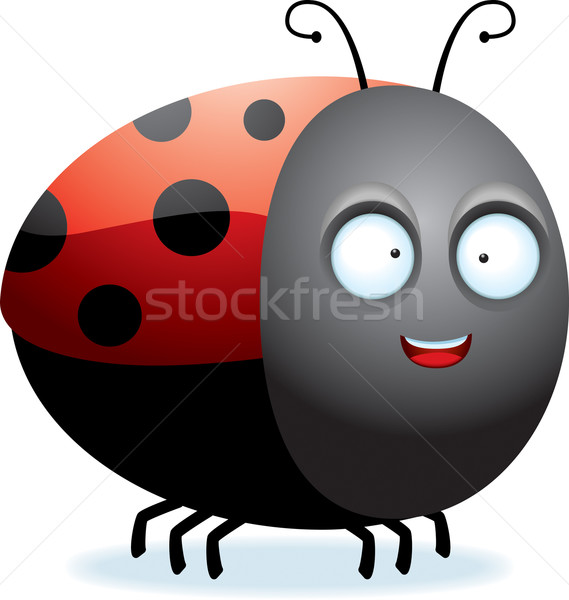 Cartoon Ladybug Stock photo © cthoman
