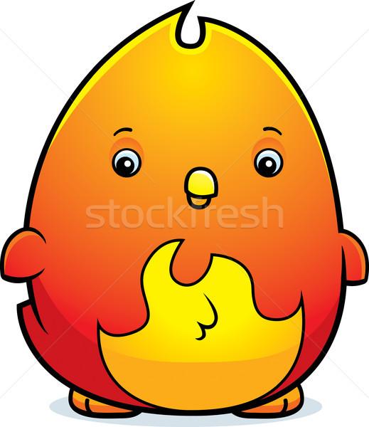 漫画 赤ちゃん フェニックス 実例 立って 火災 ストックフォト © cthoman