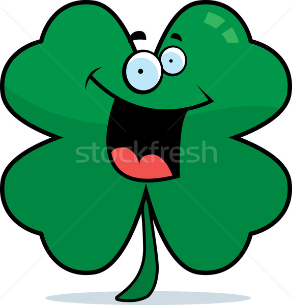 Stock photo: Clover Smiling