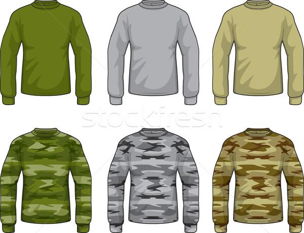 Camouflage Shirts Stock photo © cthoman