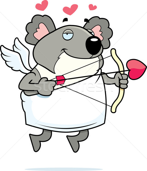 Koala Cupid Stock photo © cthoman