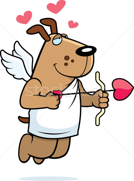 Cupid Dog Stock photo © cthoman