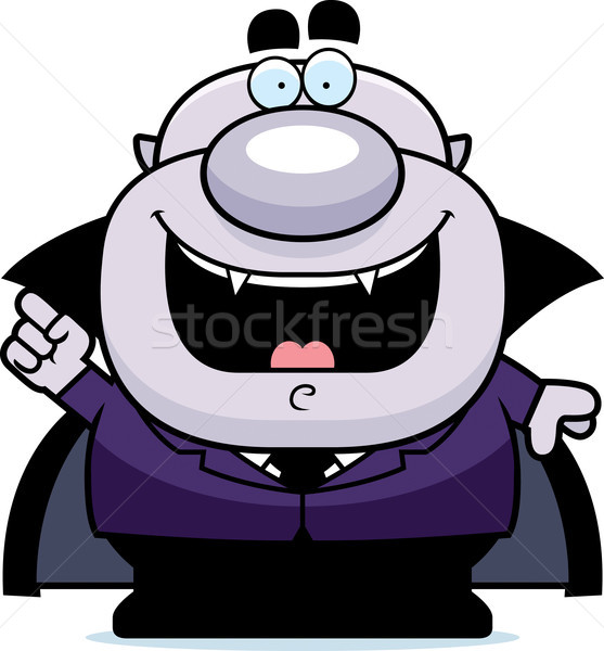 Cartoon wampira pomysł ilustracja mężczyzn osoby Zdjęcia stock © cthoman