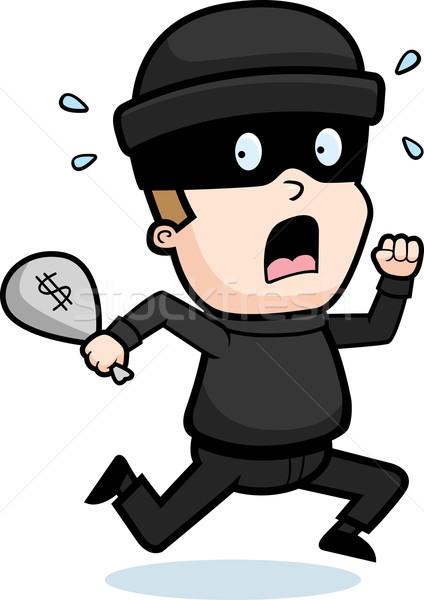 Burglar Running Stock photo © cthoman