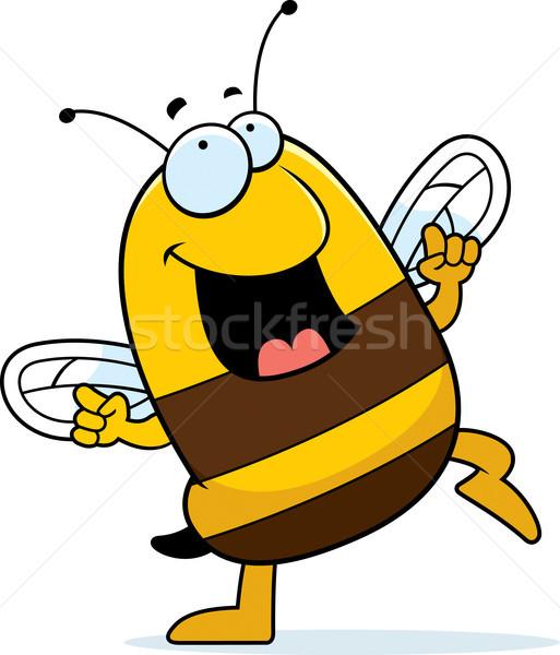 商业照片: 蜜蜂 · 跳舞 · 快乐 · 漫画 · 微笑图片