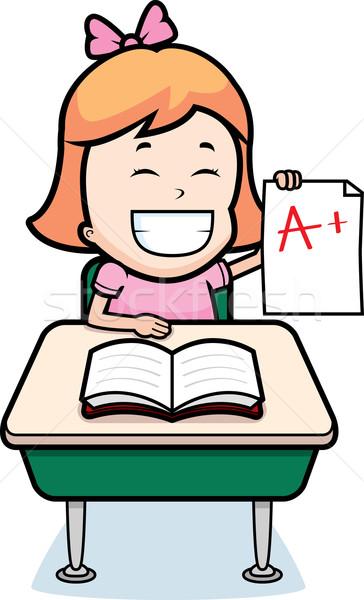 Student Grades Stock photo © cthoman