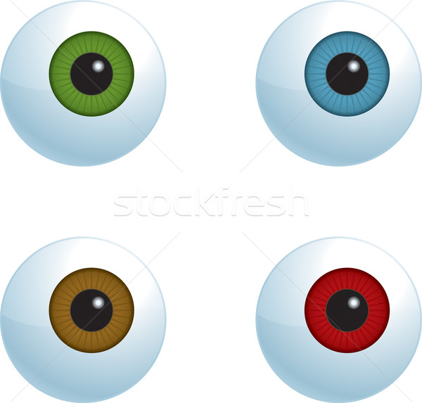 Eyeballs Stock photo © cthoman