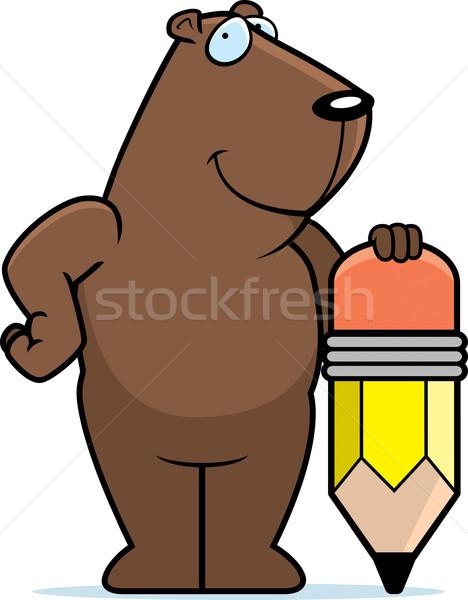 Groundhog Pencil Stock photo © cthoman