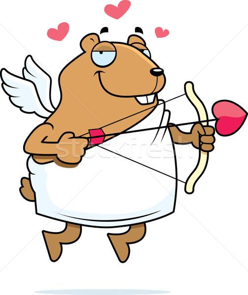 Hamster Cupid Stock photo © cthoman