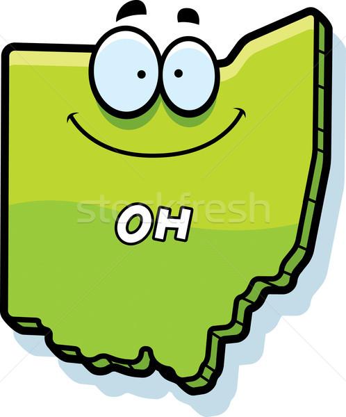 Stock photo: Cartoon Ohio