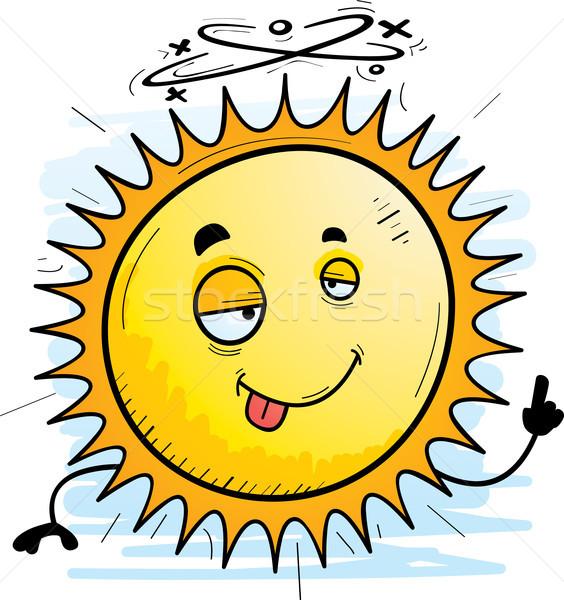 酔っ 漫画 太陽 実例 見える 幸せ ストックフォト © cthoman