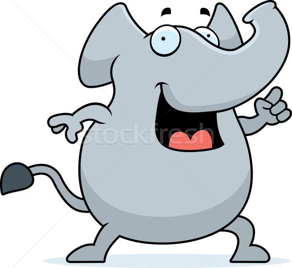 Elephant Idea Stock photo © cthoman