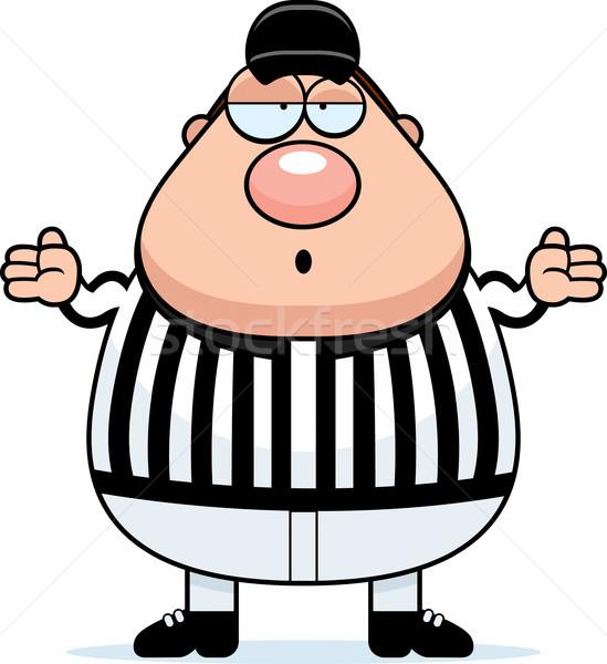 Confused Referee Stock photo © cthoman