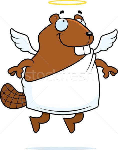 Beaver Angel Stock photo © cthoman