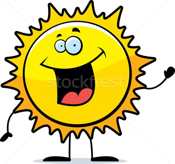 Sun Waving Stock photo © cthoman