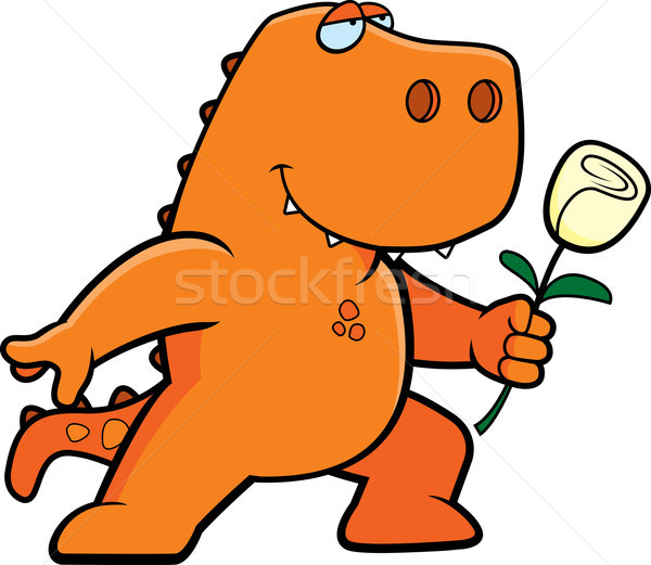 Dinosaur Flower Stock photo © cthoman