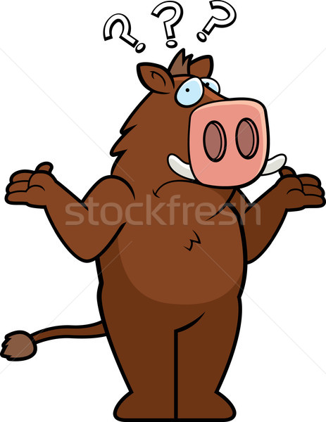 Boar Confused Stock photo © cthoman