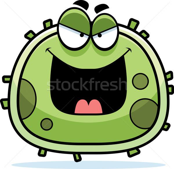 Evil Germ Microbe Stock photo © cthoman