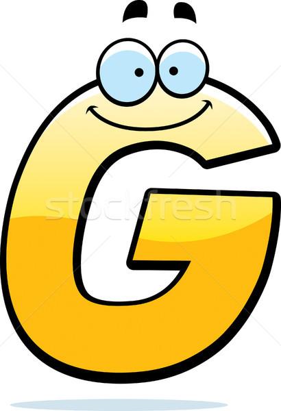 Cartoon Letter G Stock photo © cthoman