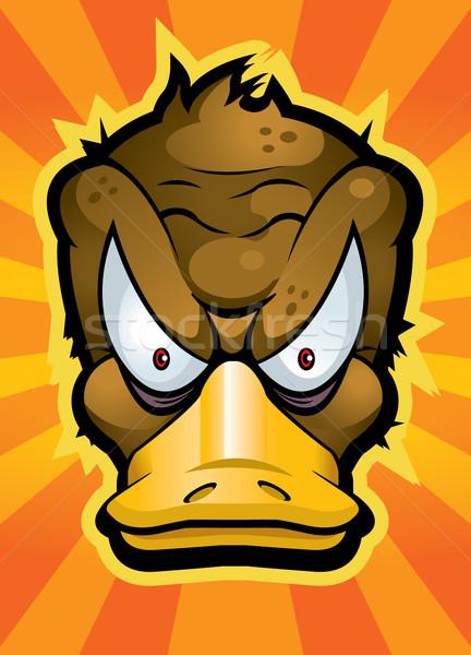 Mérges rajz állat Ausztrália barna Stock fotó © cthoman