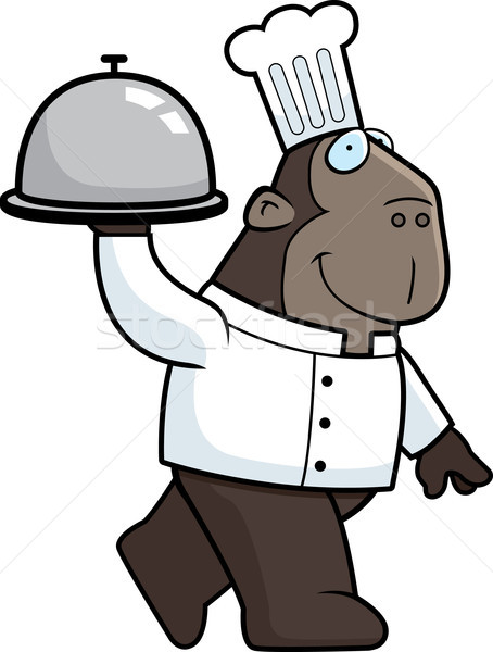 Ape Chef Stock photo © cthoman