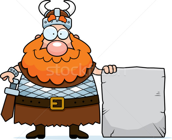 Viking Sign Stock photo © cthoman
